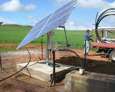 Solar Tubewell for Irrigation
